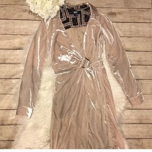 💫Anthro Maeve Velvet wrap dress!!!💫